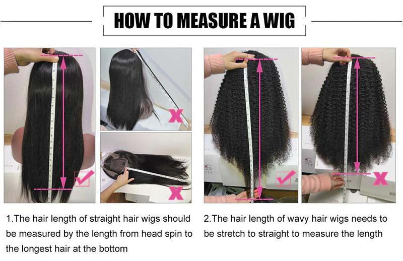 how to measure wig