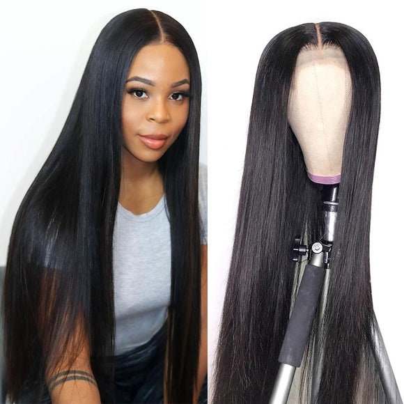 HD Lace Front Wigs 10A Virgin Hair Body Wave 4x4/13x4 Transparent Lace Closure Wigs