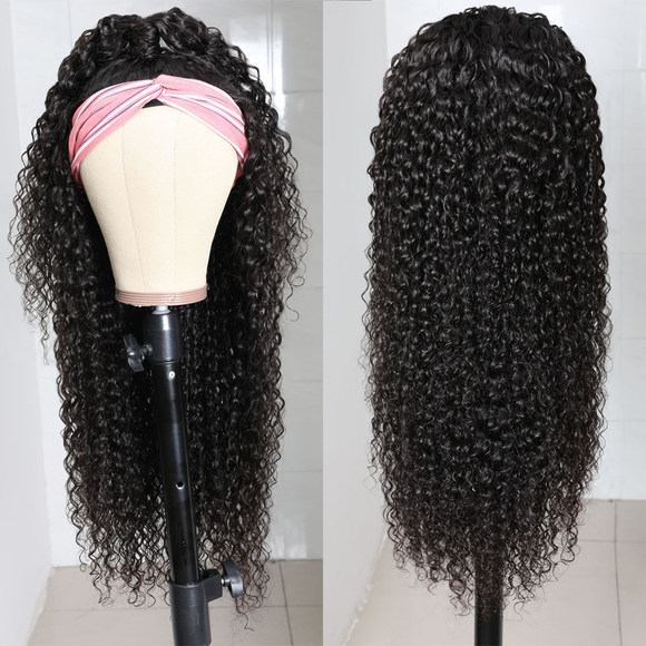 Jerry Curly Hair Wigs Headband Wigs For Sale New Trends Virgin Hair Wigs