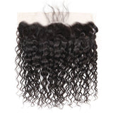 9A kisslovehair Water Wave 3 Bundles with 13*4 Lace Frontal peruvian Human Hair