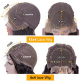 KissLove Hair 4*4/13*4 Wig Caps