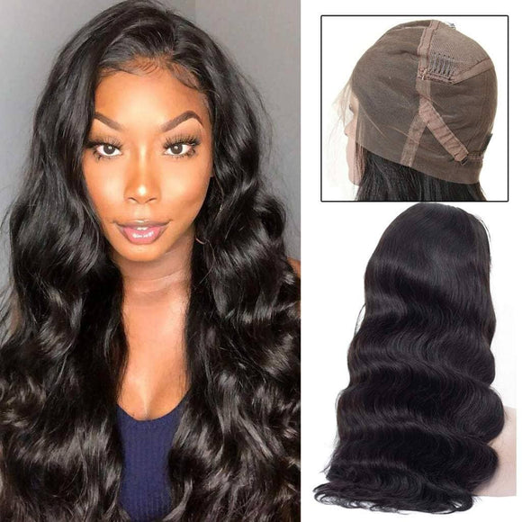 Brazilian Body Wave Pre Plucked Full Lace Human Hair Wigs with Baby Hair -KissLove Hair