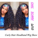 Jerry Curly Headband Wig Human Hair Wigs For Sale -KissLove Hair