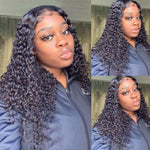 9A kisslove malaysia Water Wave 3 Bundles with 4*4 Closure Remy Hair Weave