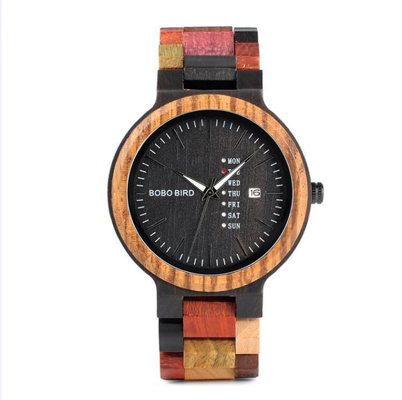 BOBO BIRD 44mm Bamboo Watch