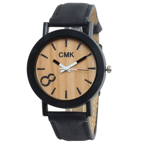 Luxury 40mm Wood Grain Watch