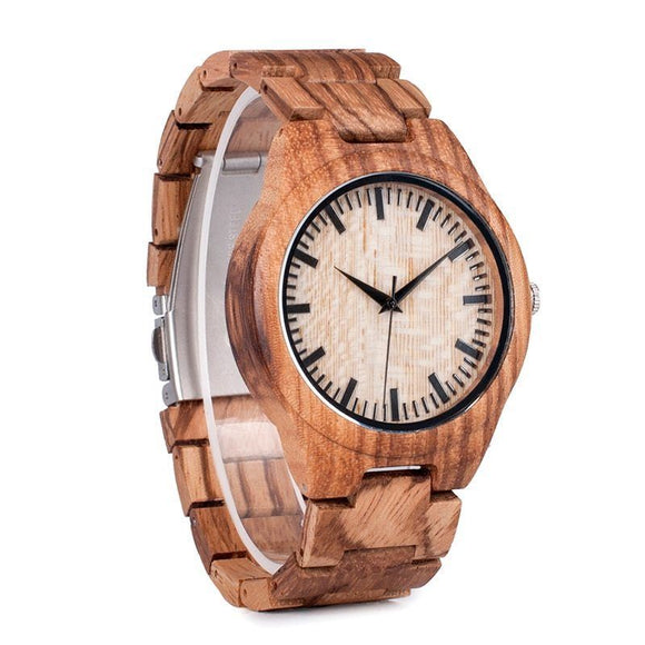 Oak 45mm Wood Watch