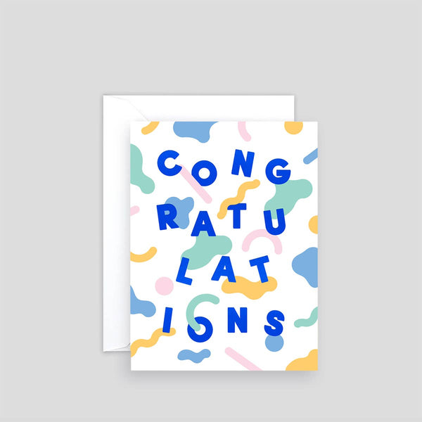 'Congratulations' Mini Card