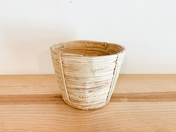 Tapered Cane Basket