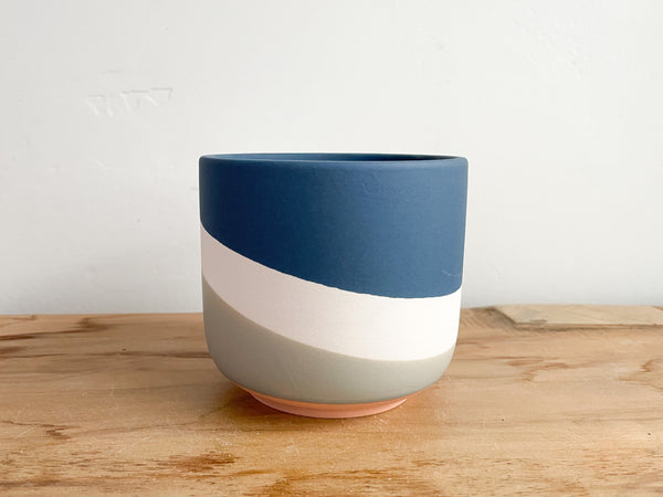 Blue Colorway Pot