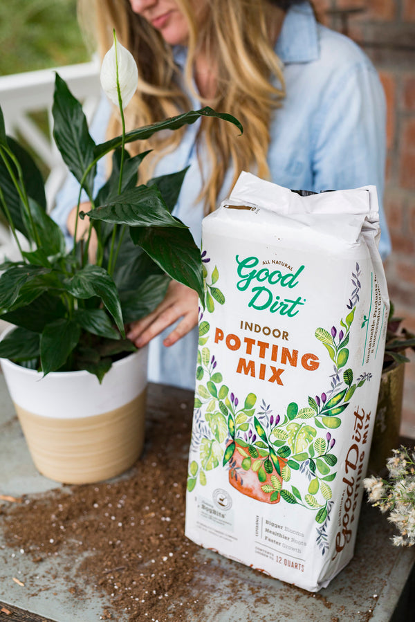 Good Dirt Indoor Potting Mix - Compressed Bag