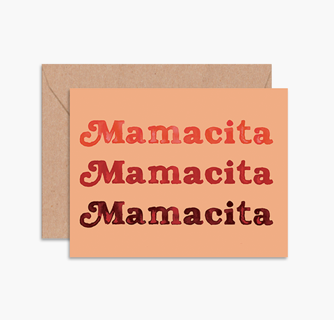 'Mamacita' Greeting Card