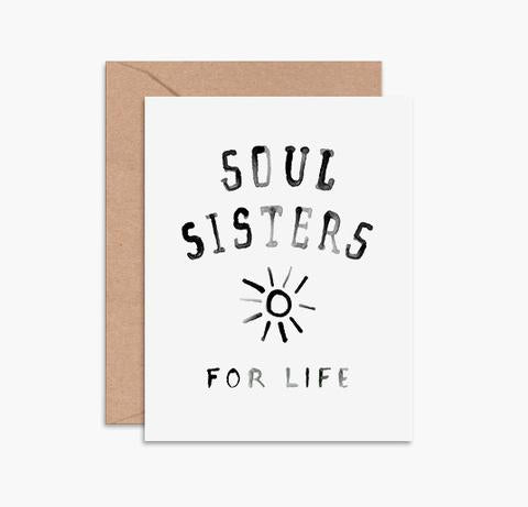 'Soul Sisters' Greeting Card