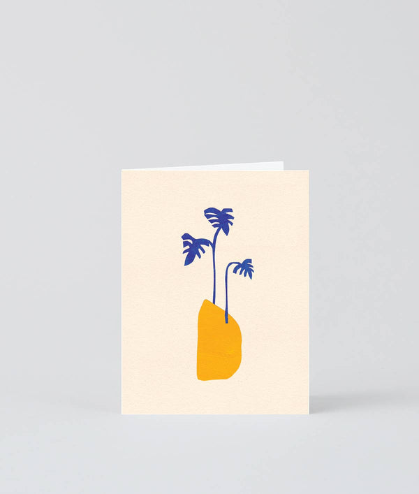 'Blue Afternoon' Mini Card