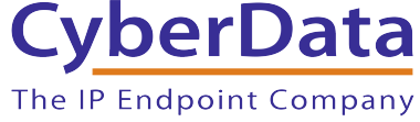 CyberData The IP Endpoint Company Banner