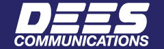 Dees Communications Banner