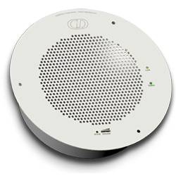 Singlewire-enabled IP Speaker - Signal White