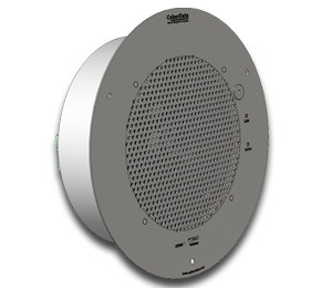 Singlewire-enabled Talk Back Speaker - Remote Push To Talk Button not included - Signal White