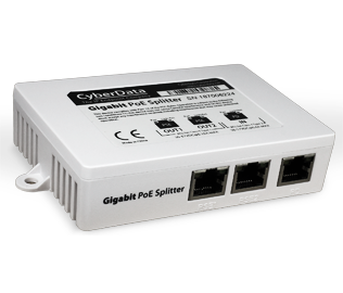 CyberData 011187 2 Port PoE Gigabit Switch