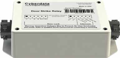 CyberData 011269 Door Strike Relay Module