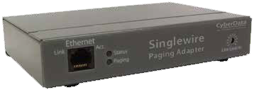 CyberData 011280 Singlewire InformaCast Paging Adapter