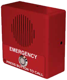 CyberData 011304 Singlewire InformaCast Emergency Indoor Intercom