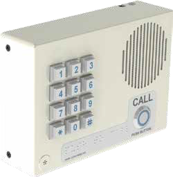CyberData 011307 Singlewire InformaCast Indoor Intercom w/Keypad - Wall Mount