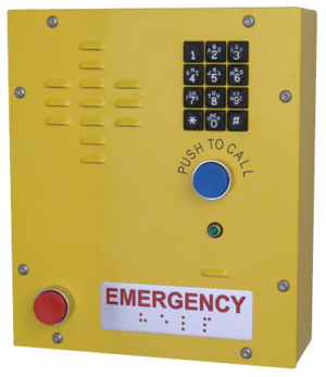 CyberData 011463 SIP Heavy Duty Emergency Keypad Call Station