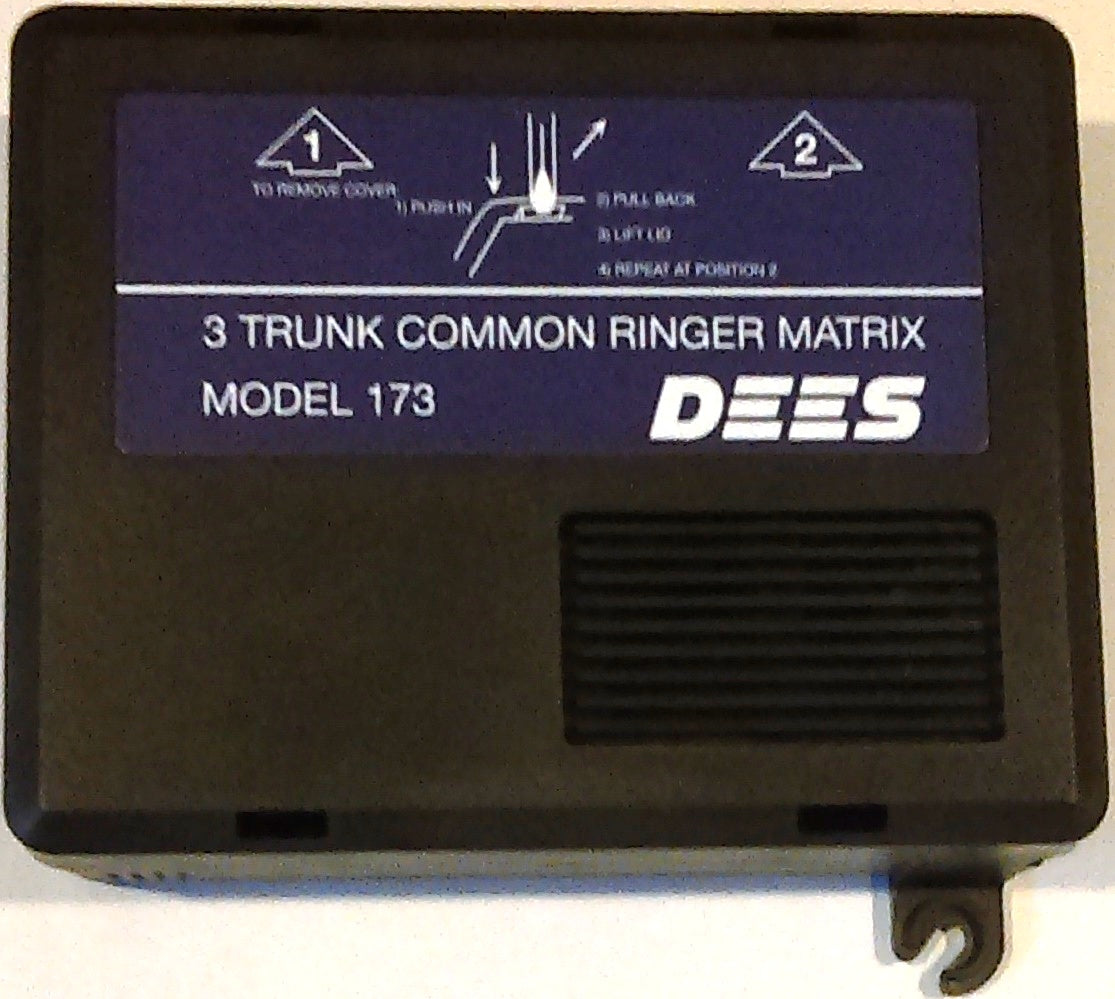 Dees Communications 173 Ringer Matrix 3 Line