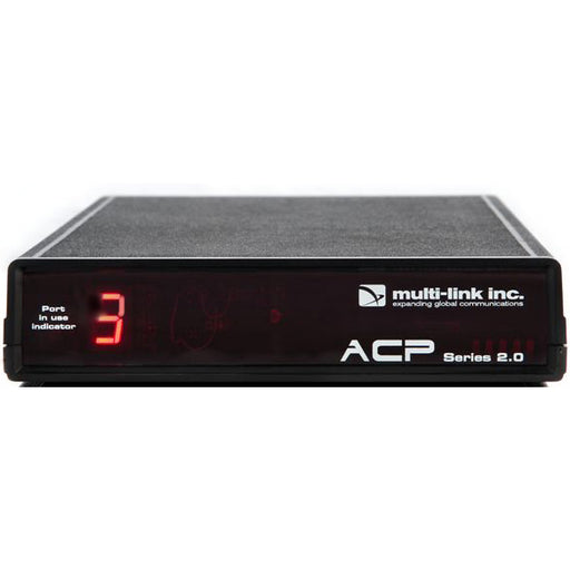 Multi-Link ACP-300 ACP Series 2.0 Out-of-Band Network Switch & Call Router: 3 device ports; 1 line-in