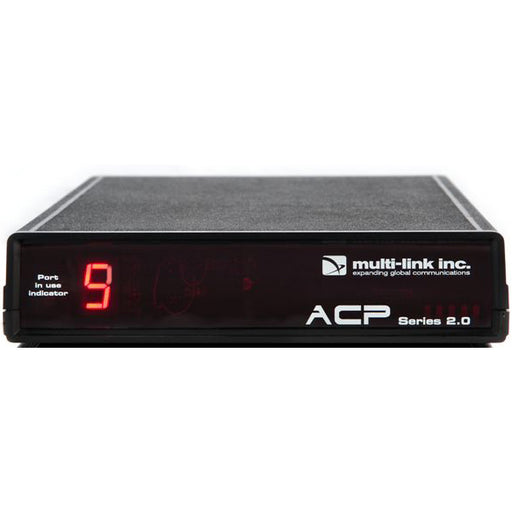 Multi-Link ACP-900 ACP Series 2.0 Out-of-Band Network Switch & Call Router: 9 device ports; 1 line-in