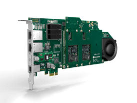 Sangoma D500-400E D500 Transcoding board, 4 transcoding modules, up to 1600 sessions, PCI Express Bus
