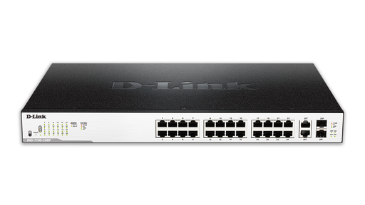 D-Link DGS-1100-26MP 1100SERS SMART 24PORT SWITCH 2COMBO 370W
