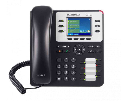 Grandstream GXP2130 PHONE 3-LINE HD IP  W/POE W LCD