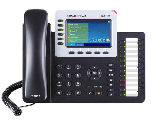 Grandstream GXP2160 GXP2160  6-Line HD IP Phone w/ PoE with