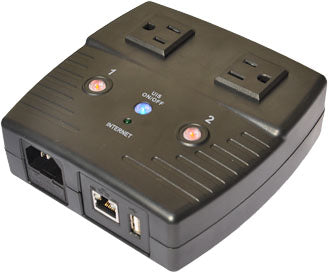 Multi-Link IP4000 IP Power Stone 4000 Two Outlet Remote Rebooter by IP/web