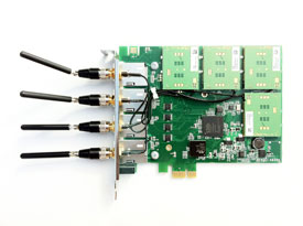 Sangoma W400-003E GSM board with 3 GSM Module