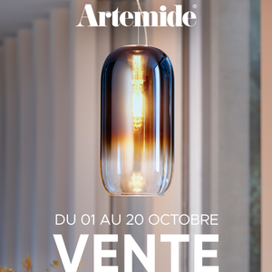 Artemide sale from October 1 to October 20, 2020.