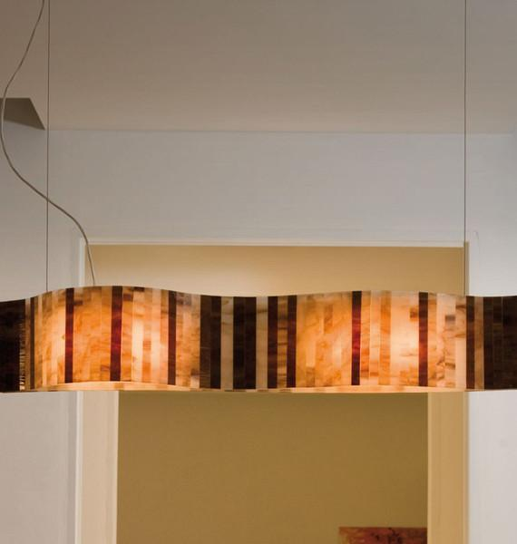 Vento pendant Lighting linear from Arturo Alvarez