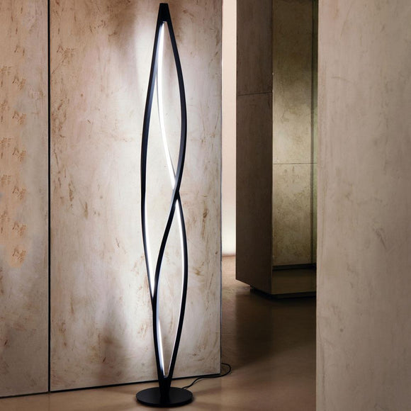 In the wind Floor Lamp Light from Nemo Cassina