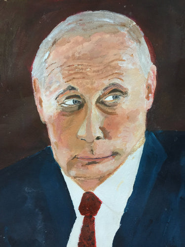 Portrait of Vladimir Putin