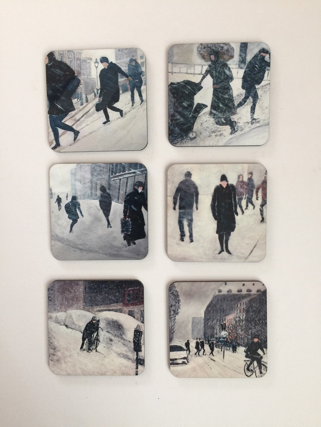 Coaster set Winter 1