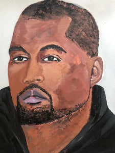 Orginal painting Kanye West
