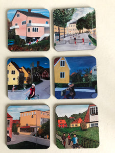 Coaster set Bromma Villor mm