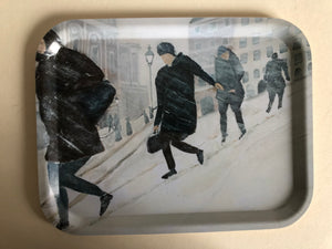 "Tray ""Snöoväder i city"""