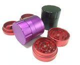 Luxury 4 Piece Metal Zinc Alloy Grinder