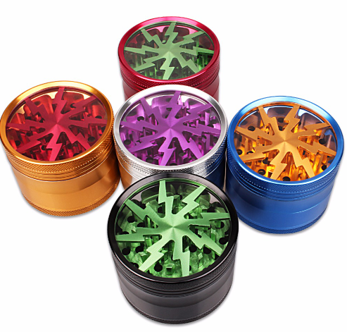 4 Tier Lightning herb Grinder