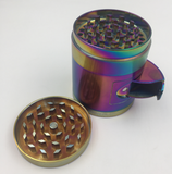 4 Layer 55mm Zinc Metal Grinder Accessory