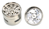 Luxury 4 Layer Grinder Hand-cranked Metal Spice