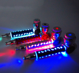 LED Flash Colorful Light metal Pipes